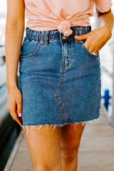 "The ""Sweet As You"" Denim Skirt - Gameday Couture"