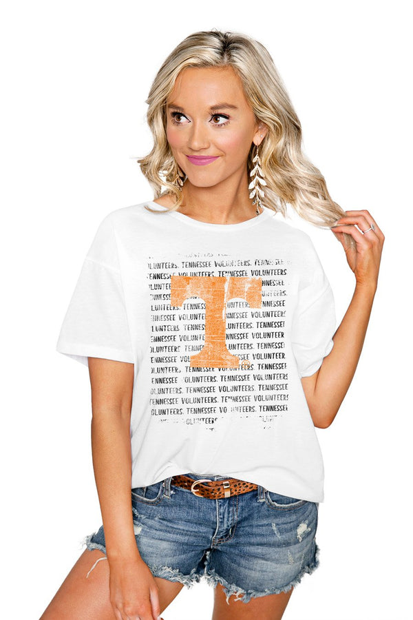 "TENNESSEE VOLUNTEERS ""BOLD TYPE"" THE EASY TEE - Shop The Soho"