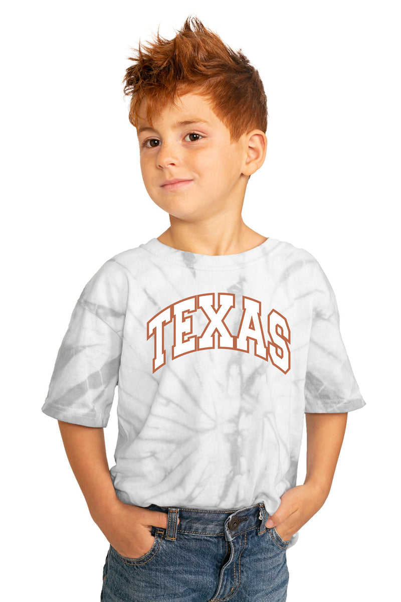 "Texas Longhorns ""Playing for the Home Team"" Youth Spin-Dye Top - Gameday Couture"