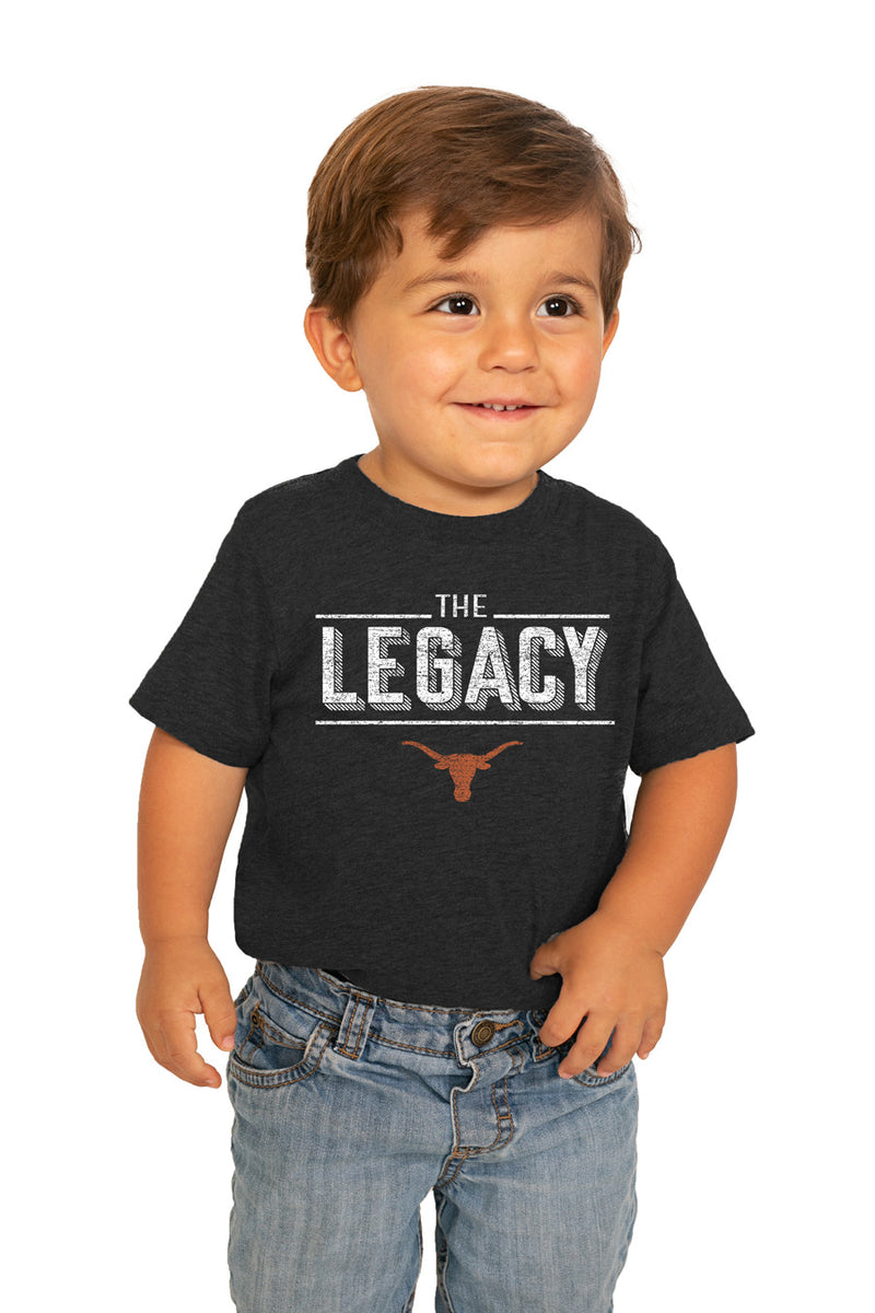"Texas Longhorns ""The Legacy"" Toddler Tee - Gameday Couture"