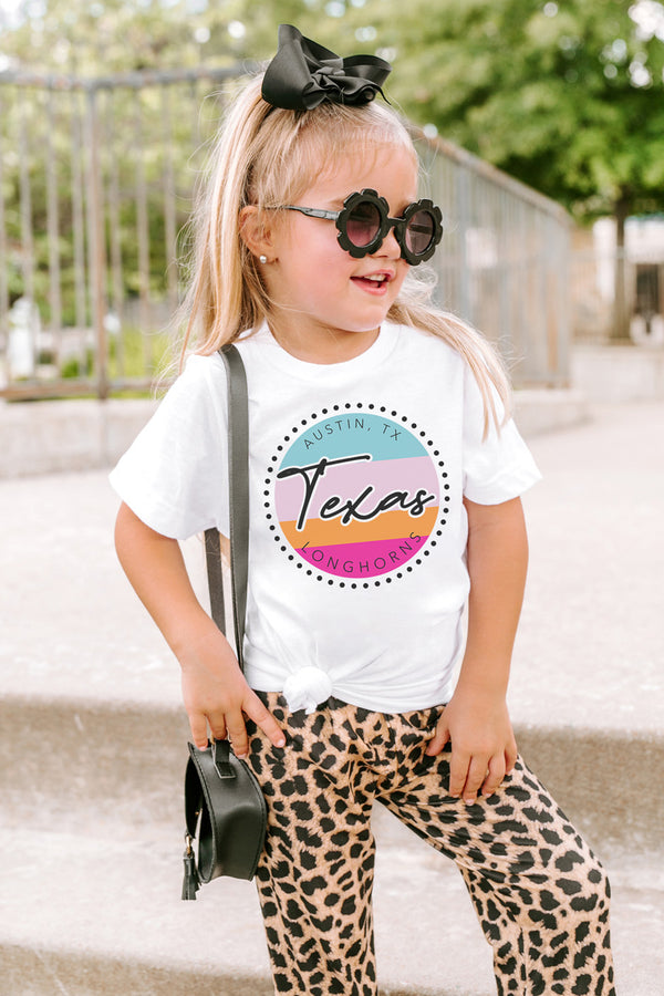 "Texas Longhorns ""The Lets Get Louder"" Toddler Tee - Shop The Soho"