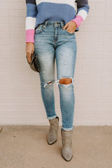 "The ""Harper"" Denim Jeans - FINAL SALE - Gameday Couture"