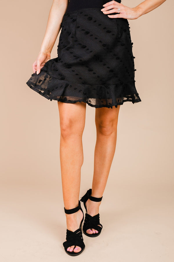 "The ""True To You"" Skirt in Black"