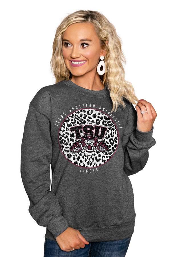 "TEXAS SOUTHERN UNIVERSITY ""CALL THE SHOTS"" Perfect Crew Sweatshirt - Gameday Couture"