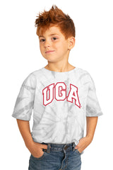 "Georgia Bulldogs ""Playing for the Home Team"" Youth Spin-Dye Top - Gameday Couture"