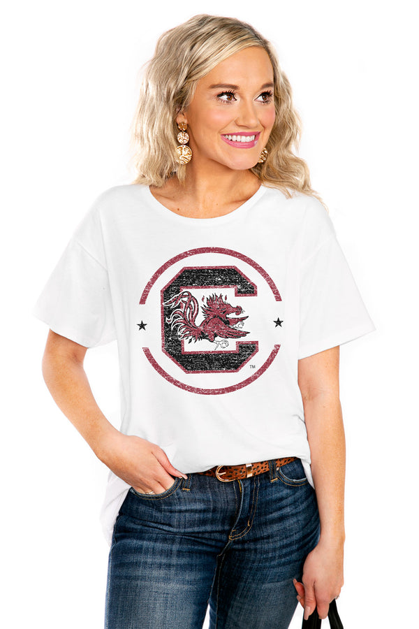 "SOUTH CAROLINA GAMECOCKS ""END ZONE"" THE EASY TEE - Shop The Soho"