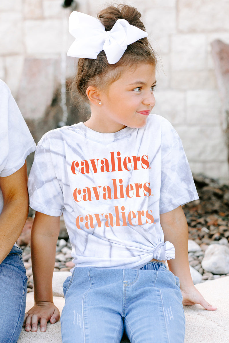 "Virginia Cavaliers ""Sweet Repeat"" Youth Spin-Dye Tee - Gameday Couture"