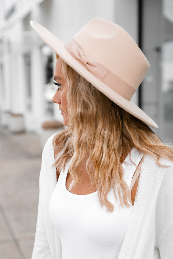 "The ""Val"" Wide Brim Felt Hat - Shop The Soho"
