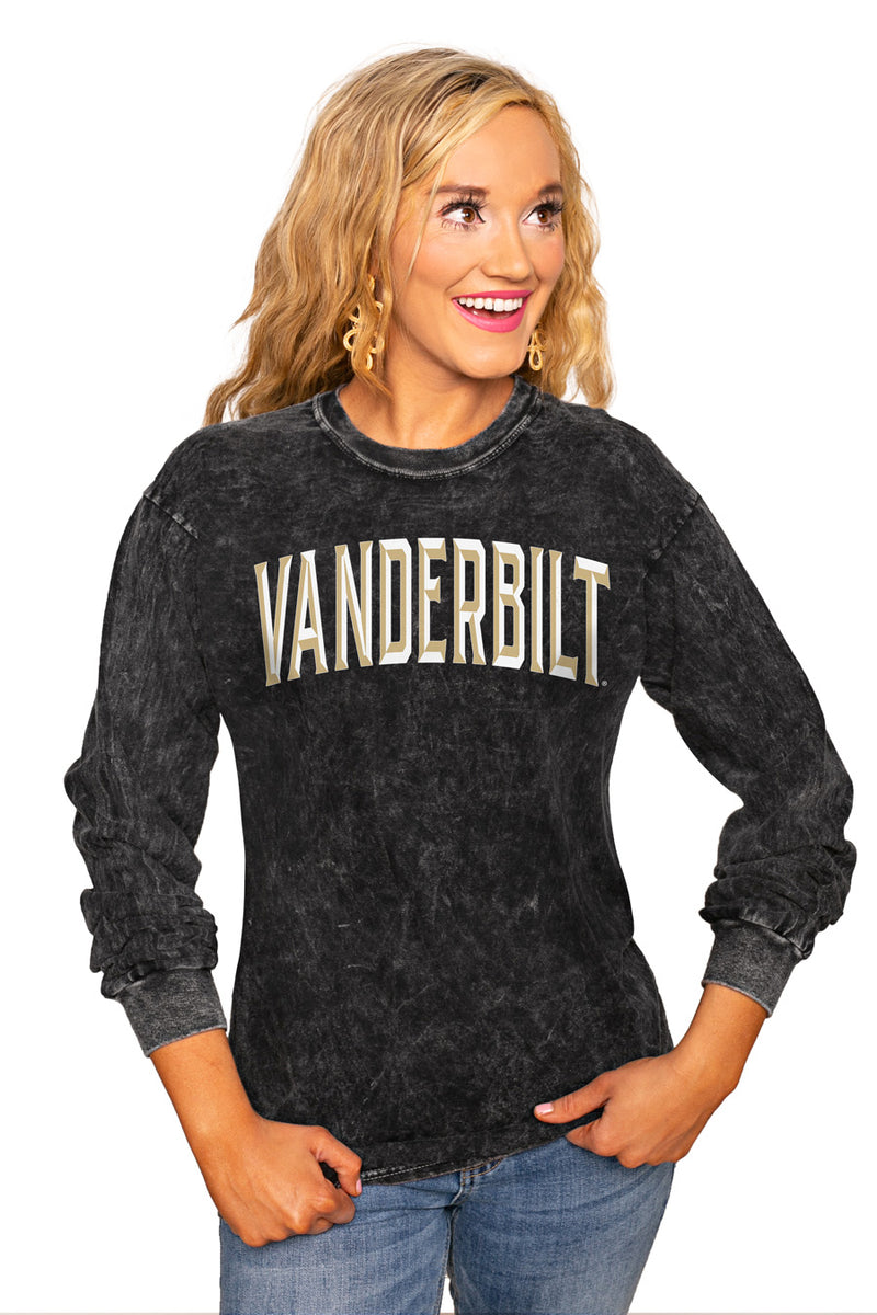 "Vanderbilt Commodores ""Good Going"" Retro Mineral Wash Crew - Gameday Couture"