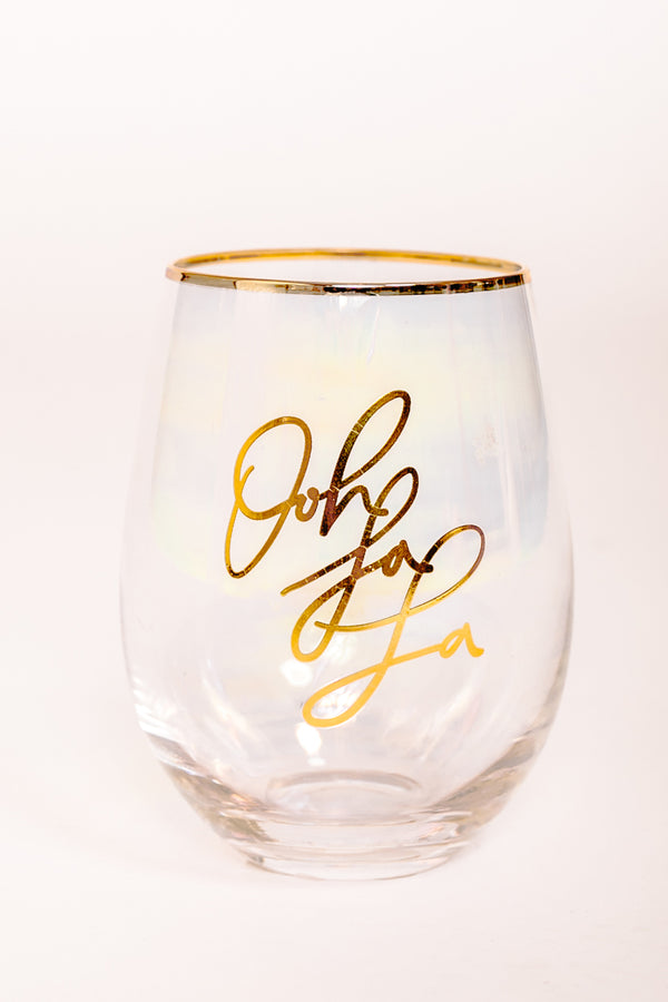 "The ""Oh La La"" Wine Glass"