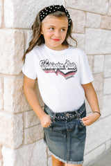 "Washington State Cougars ""Vivacious Varsity"" Youth Tee - Gameday Couture"