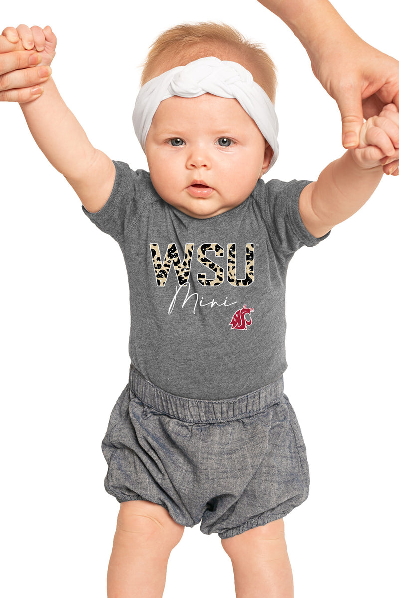 "Washington State Cougars ""Untamed Mini"" Onesie ""Untamed Mini"" Onesie - Gameday Couture"