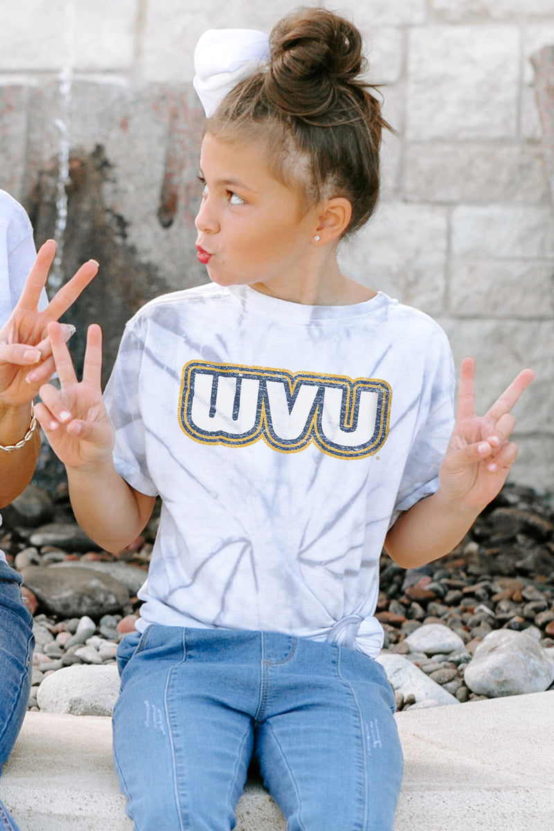 "West Virginia Mountaineers ""It's a Win"" Youth Spin-Dye Tee - Gameday Couture"