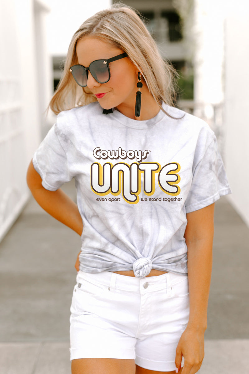 "Wyoming Cowboys ""Stand United"" Top - Shop The Soho"