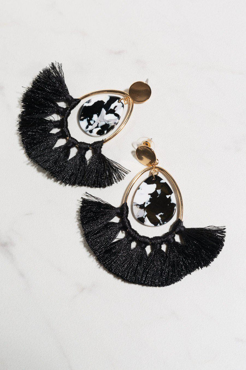 "The ""Show Down"" Earrings - FINAL SALE - Gameday Couture"