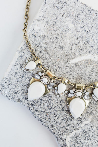 The Rockstar Necklace in White