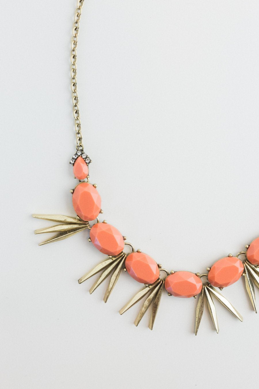 The Stella Necklace in Terracotta