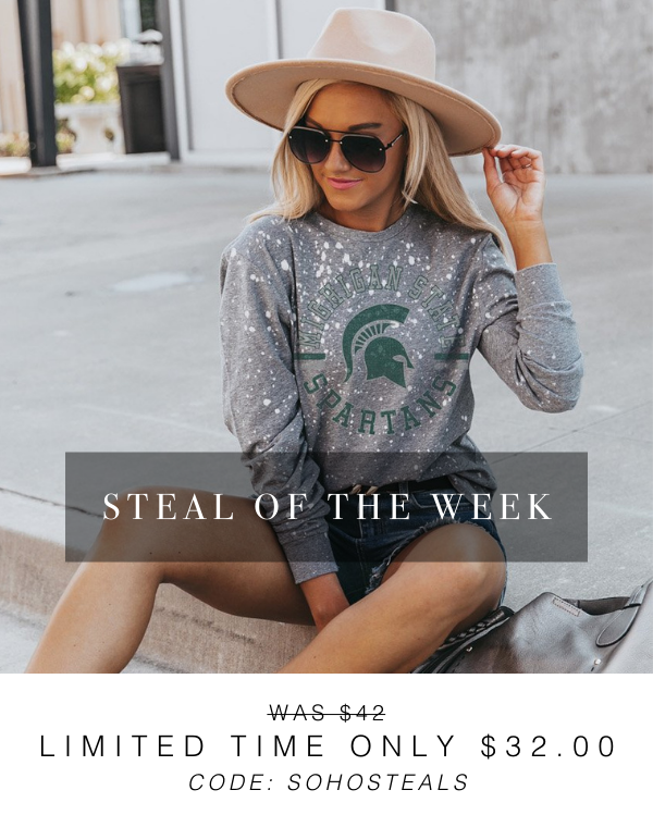 SHOP THE STEAL OF THE WEEK