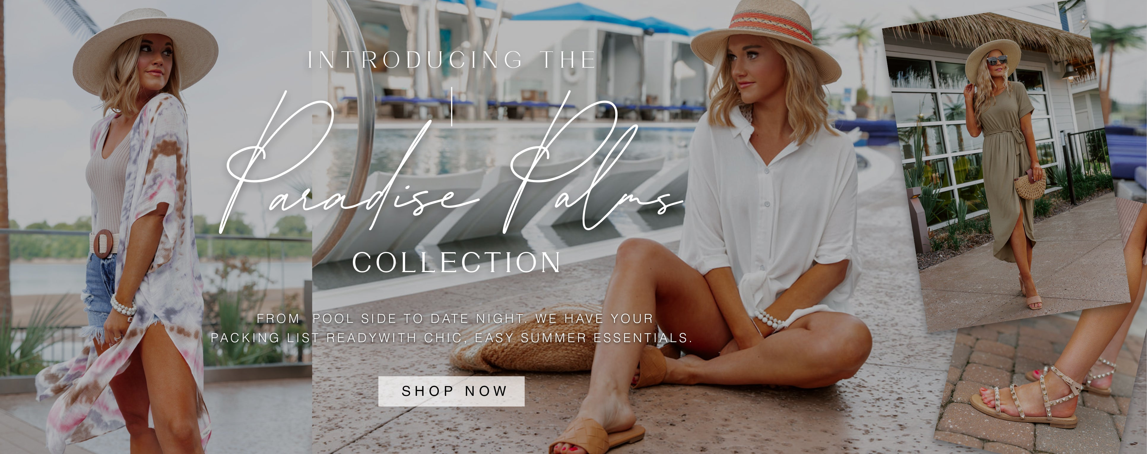 INTRODUCING THE PARADISE PALMS COLLECTION