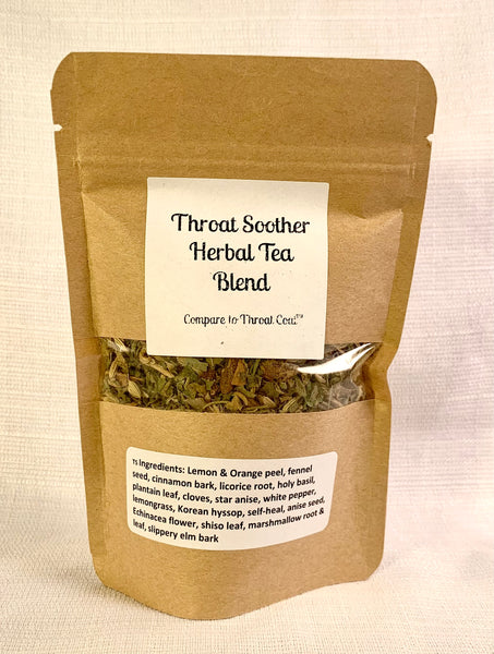 Throat Soother Herbal Tea Blend