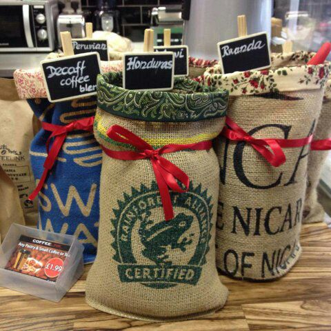 Grab a free bag of aromatic coffee on us!
