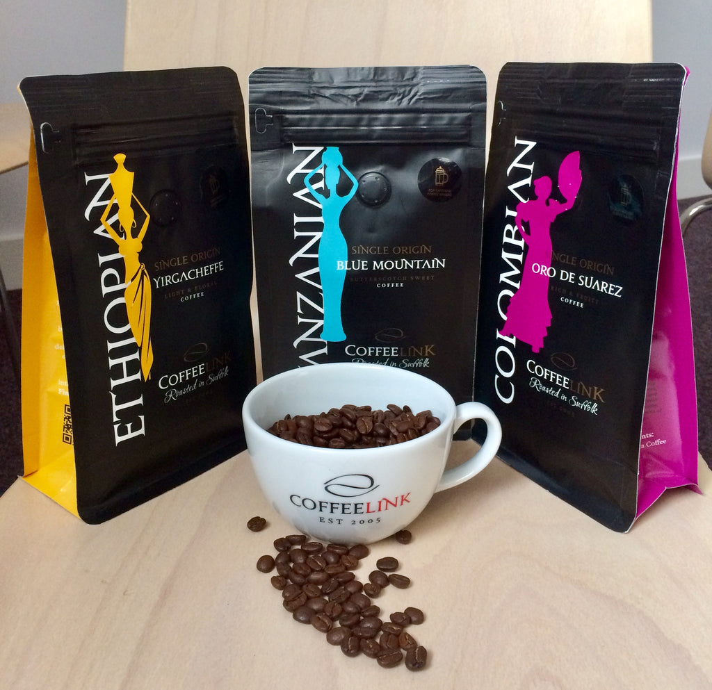 Coffeelink Roasting their ethically sourced beans!