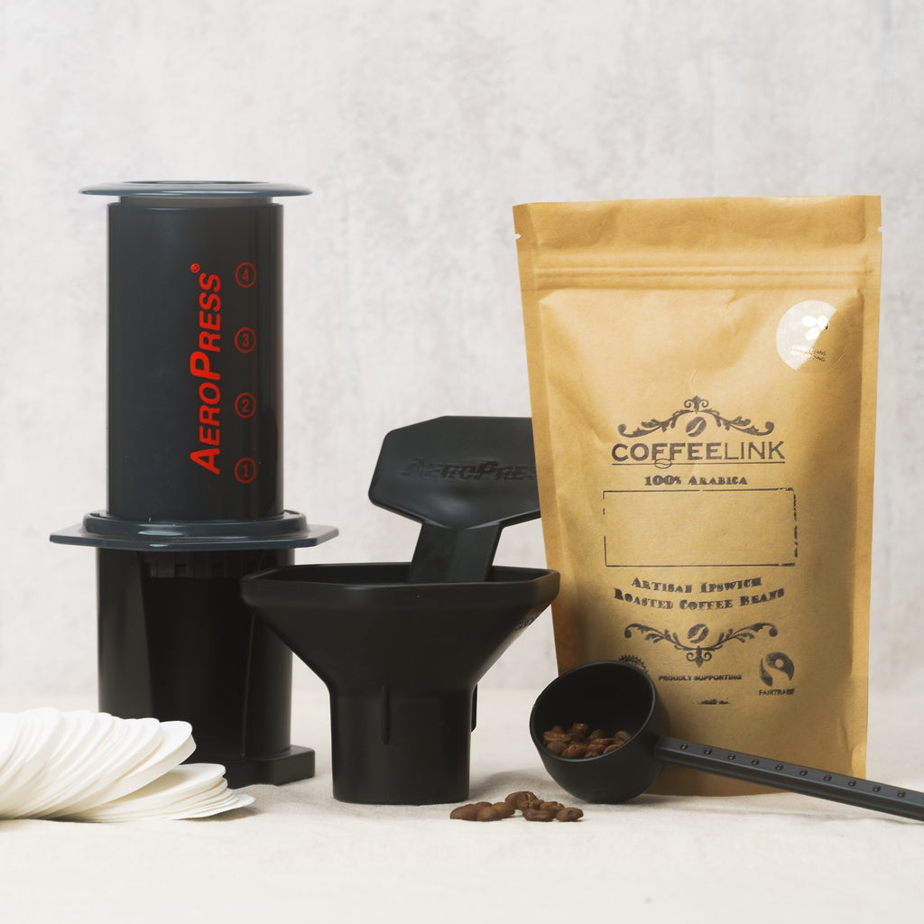 Aeropress Coffee Maker + FREE bag of Single Origin Coffee