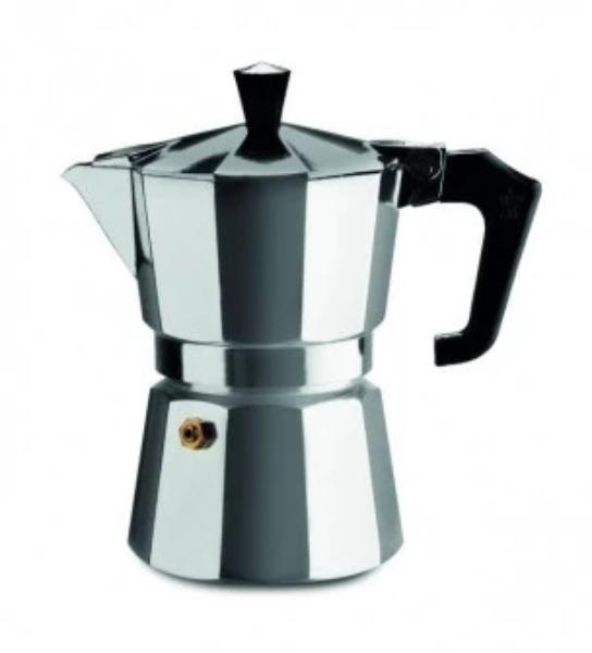 Pezzetti Italexpress Aluminium Moka Pot - 3 Cup (Choice of Colours)