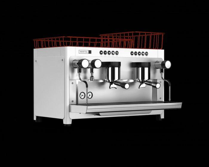 Iberital Tandem (2 Group) 5000W Espresso Coffee Machine
