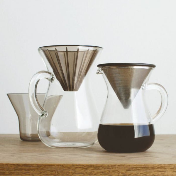 KINTO SCS-04-CC-PL COFFEE CARAFE SET 600ML PLASTIC BREWER