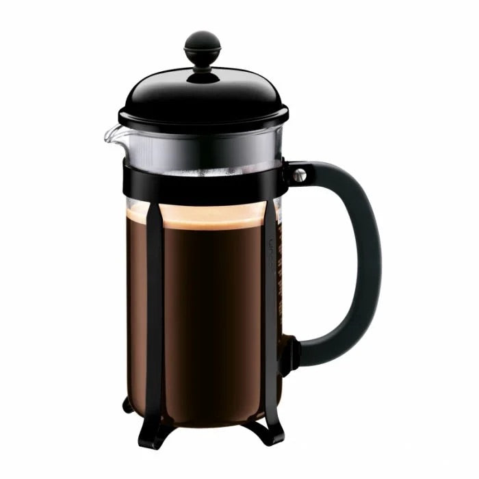 BODUM CHAMBORD COFFEE MAKER 8 CUP 1.0L/34OZ - BLACK