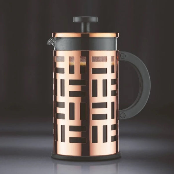 BODUM EILEEN COFFEE MAKER, 8 CUP, 1.0 L, 34OZ - COPPER