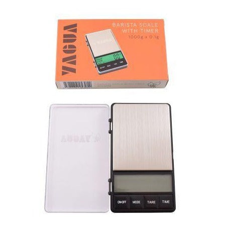 Yagua Scale & Brew Timer: Dual Display Series 1000G X 0.1G ACC0002