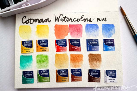 Cotman Water Colours