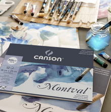 Load image into Gallery viewer, Canson Watercolour Paper Pads