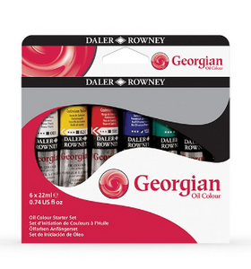 Daler-Rowney Georgian Oil Colour Sets - 22ml Tubes