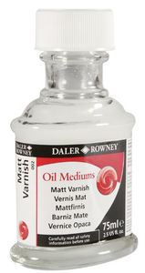 Daler Rowney Oil Medium Varnish 75ml