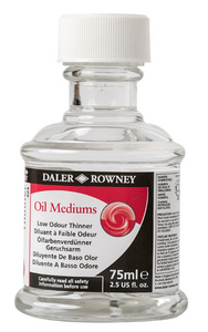 Daler-Rowney Oil Medium Low Odour Thinner 75ml
