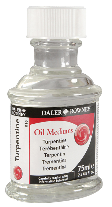 Daler-Rowney Oil Medium Turpentine 75ml