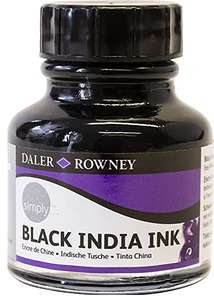Daler-Rowney Simply Black India Ink
