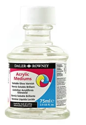 Daler Rowney Acrylic Medium Soluble Varnish 75ml