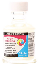 Load image into Gallery viewer, Daler Rowney Acrylic Medium Soluble Varnish 75ml