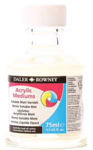 Daler-Rowney Acrylic Medium Soluble Varnish 75ml