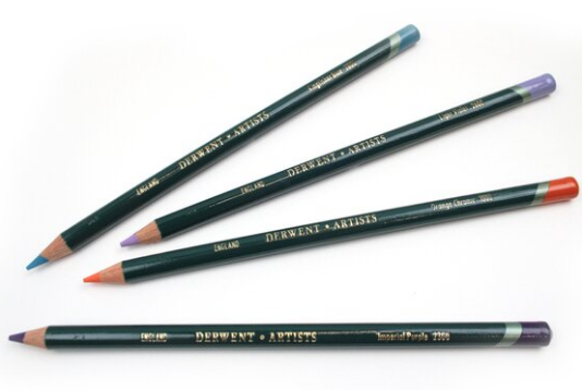 Derwent Inktense Fine Art Pencils