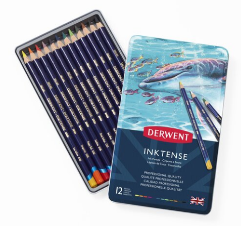 Derwent Inktense Ink Pencils - Sets