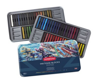 Derwent Inktense Blocks 72 piece