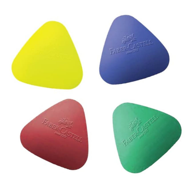 Faber Castell GRIP Shaped Erasers