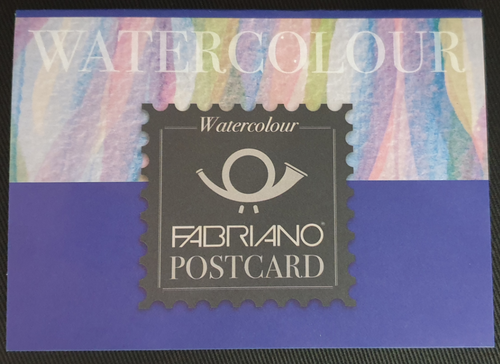 Fabriano Watercolour Studio Postcards 300gsm Pad