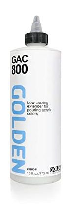 GOLDEN GAC800 Low Crazing Extender for Pouring Acrylic Colours 236ml