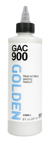 GOLDEN GAC900 Heat-Set Fabric Painting Medium 236ml